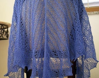Lace Venezia  Shawl  knitting  pattern pdf