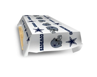 "Dallas Cowboys NFL Table Cover 54"" x 102"""