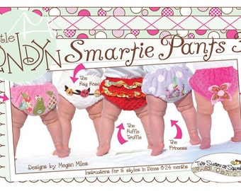 Smartie Pants 3 Sewing Pattern Diaper Covers Print Edition