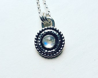 Blue Moon - Moonstone Necklace