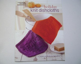 Holiday Knit Dishclothes Instruction Book