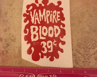 Vampire blood decal