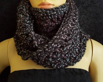Chunky knit extra large cowl
