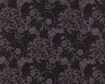 "A Barbara Brackman fabric called ""Morris Apprentice"" ."