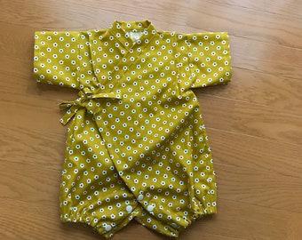 Baby Kimono , baby rompers kimono , baby jinbei , rompers jinbei