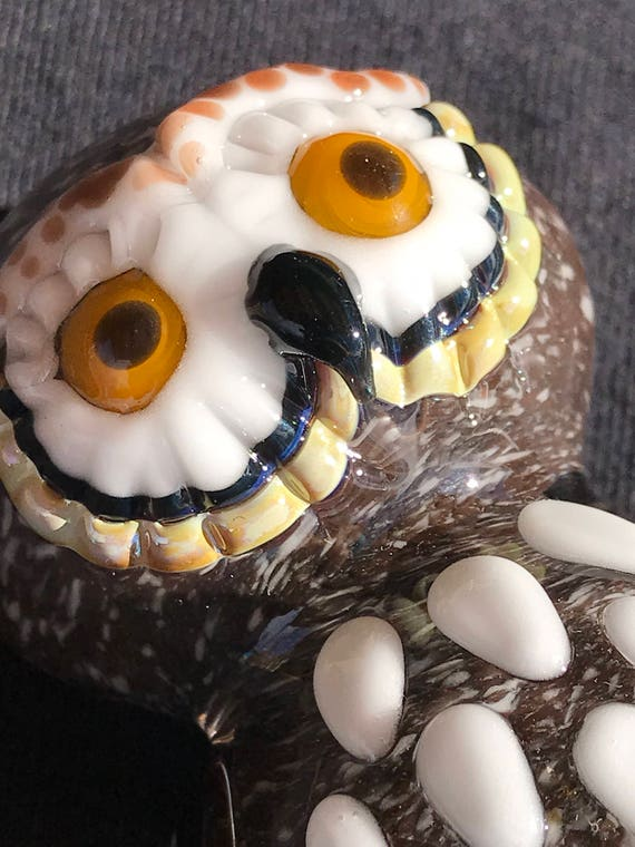 Glass Pipe Brown Owl!