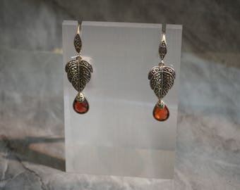 Sterling silver Earrings Danielle, silver 950, fine jewelry