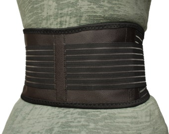 Back Support   Dual Magnetic & Tourmaline Technology   Self-Heating   Adjustable Fit