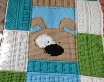 Finished blanket - PUPPY