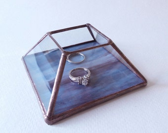 Item # 226 Stained Glass Ring Warming Ceremony Box
