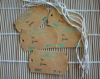 Labels scrapbooking to thank you paper leather effect cord, sold in packs of 5.