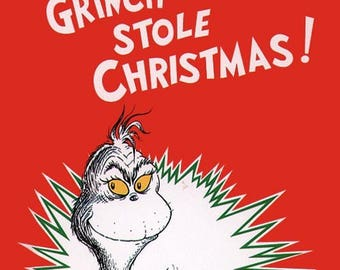 How the Grinch Stole Christmas 1985 Edition by Dr. Suess