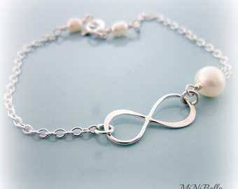 Infinity Bracelet. Simple Bracelet. Bridesmaids Bracelet. friendship bracelet