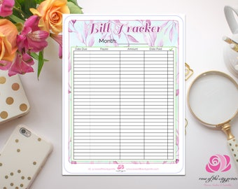 Bill Tracker - Fits ECLP Notes Section