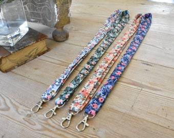 Floral lanyard | key chain | Rifle Paper Company | floral | choose one