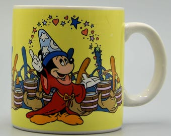 Vintage Disney Mickey Mouse Mug from 1985