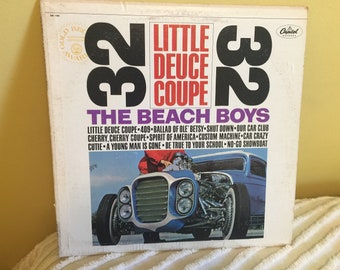 Beach Boys Little Deuce Coupe Record Album Vinyl NEAR MINT condition