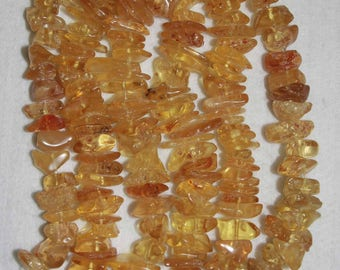 Copal, Columbian Copal, Copal Nuggets, Amber-Like, Natural Copal, Gold Color Nugget, Large Nugget, 16-24 mm, AdrianasBeads