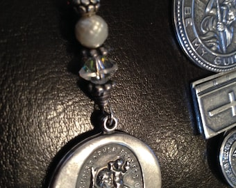 Saint Christopher's Medal With Travelers Prayer, By Sunnylook on Etsy