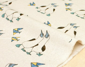 Japanese Fabric Gannet canvas - natural - 50cm