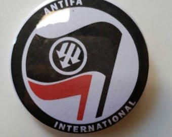 Antifa International Button