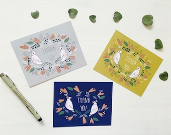 Thank You- note cards set of 10