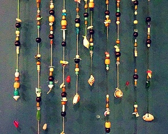 Beads by the sea