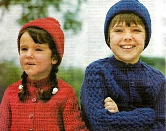 STUDLEY 841  Vintage Knitting Pattern Instant Download!