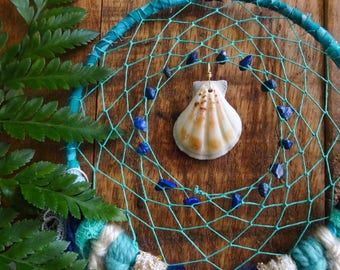 MEDIUM Beachy Dream Catcher