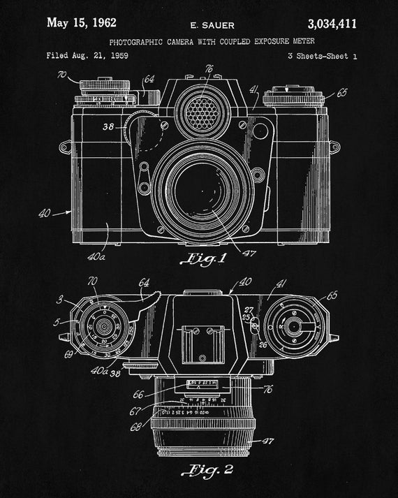 Camera patent print camera vintage design poster art blueprint camera patent print camera vintage design poster art blueprint photography decor malvernweather Images