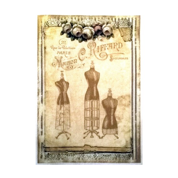 """Applied fusible - Collection """"Fashion Retro"""" AT411 3"""