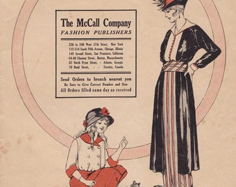 PDF Reproduction - 1914 Fall-Winter- McCall Pattern Catalog
