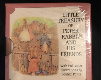 Little Treasuries: Little Treasury of Peter Rabbit & His Friends, 6 Vol. Boxed Set