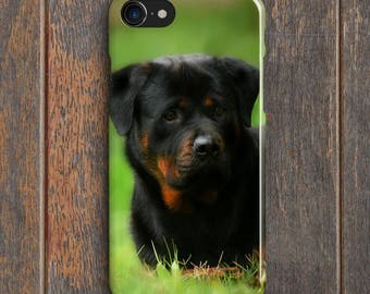 Rottweiler Puppy Phone Case - PC020 | Personalised Gift | Unique Gift | Phone Case | iPhone | Samsung