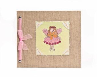 Baby Book - Baby Memory Book - Girl, Fairy, Baby Album - Fairy Baby Memory Book - Hugs and Kisses XO Baby Memory Book