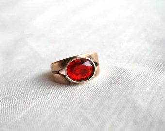 Soviet ring 875 silver hallmark.