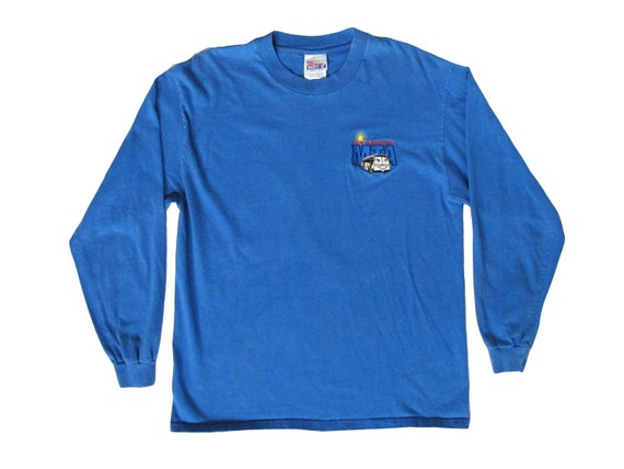 Los Angeles MTA Bus Embroidered L/S Shirt