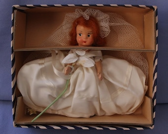 Vintage Eugenia Doll Company Bride #50, Mint With Box