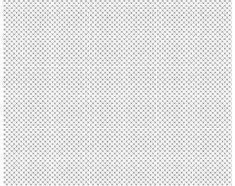Kisses on Gray on White (C220) - Riley Blake Designs