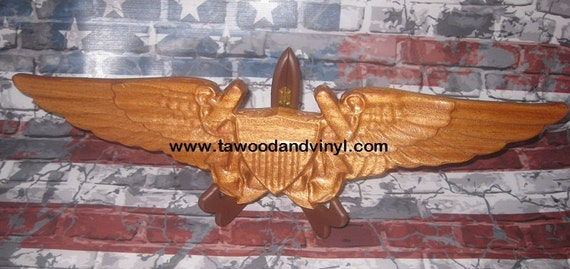 Aviation Art, naval aviation, Naval Marine Flight  navigator wings Officer, NFO, Marine, US Navy, Coast Guard, ornament, graduation, art