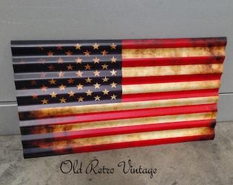Corrugated Steel Flag