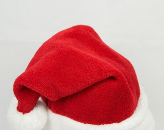 Christmas Santa Hat, Adult Christmas hat, Xlarge santa hat, Santa Claus cap, Toddler Santa hat Traditional santa hat, Girls Kids Children