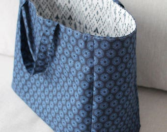 Small fabric tote bag