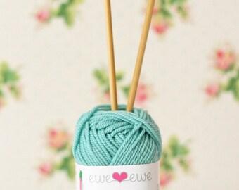 Turqouise Superwash Merino Wool Worsted Yarn