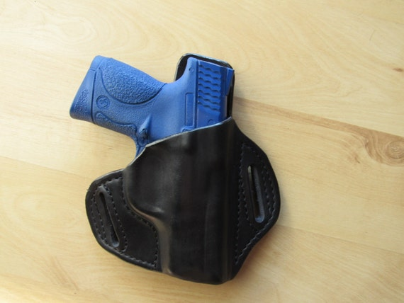 Leather Holster for the  M&P Compact custom crafted from premium leather for EDC, OWB