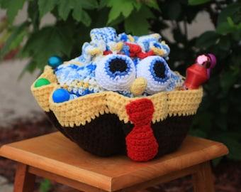 Spongebob Craft/Bingo Bag