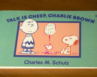 Vintage Book: Talk is Cheep, Charlie Brown, by Charles M. Schulz