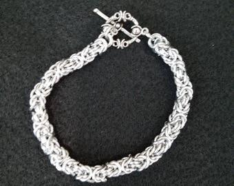 Byzanine Chain Maille Bracelet
