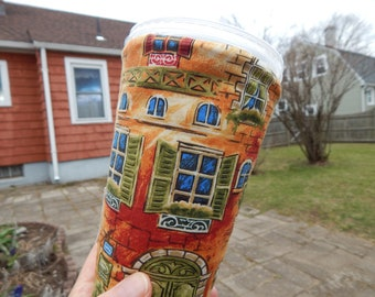 Large Reversible Iced Coffee Cozy