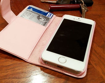 IPhone travel case, wallet  for Iphone 5, 5S, credit card case for IPhone 5